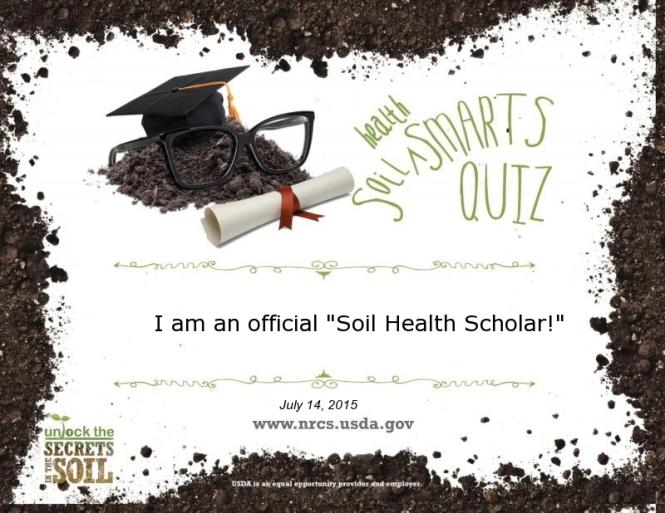 Soil Health Certificate